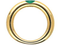 18ct Gold & Emerald Ring by Cartier