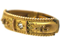Edwardian 9ct Gold Scarf Clip