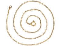 Edwardian 9ct Gold Chain