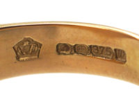 9ct Gold Signet Ring with Welsh Dragon Motif