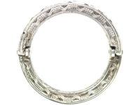 Retro Silver & Paste Flip Over Day & Night Ring