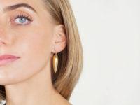 18ct Gold Drop Earrings