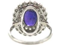 Edwardian Platinum Colour Change Sapphire & Diamond Ring