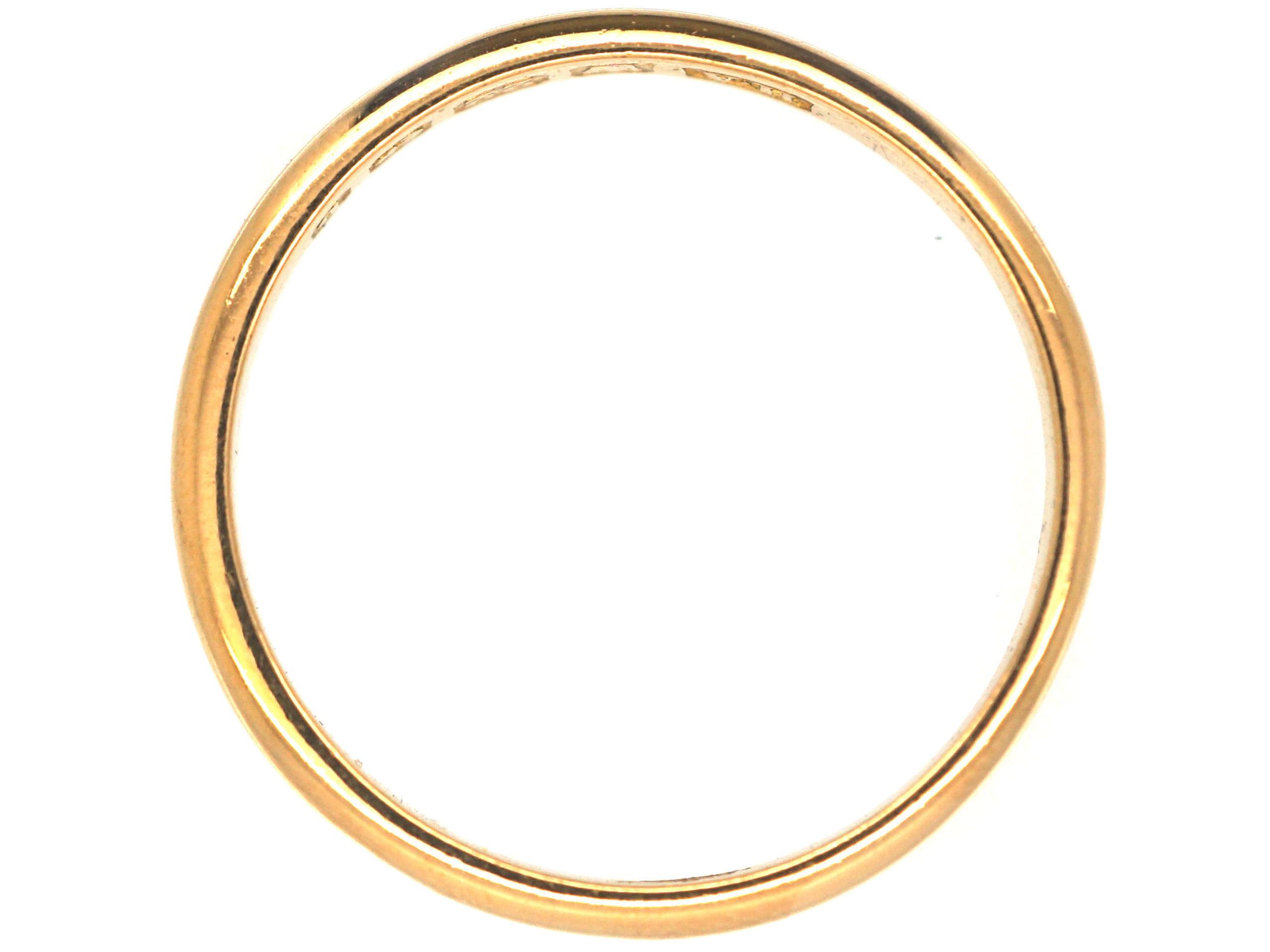 Edwardian 22ct Gold Wedding Ring