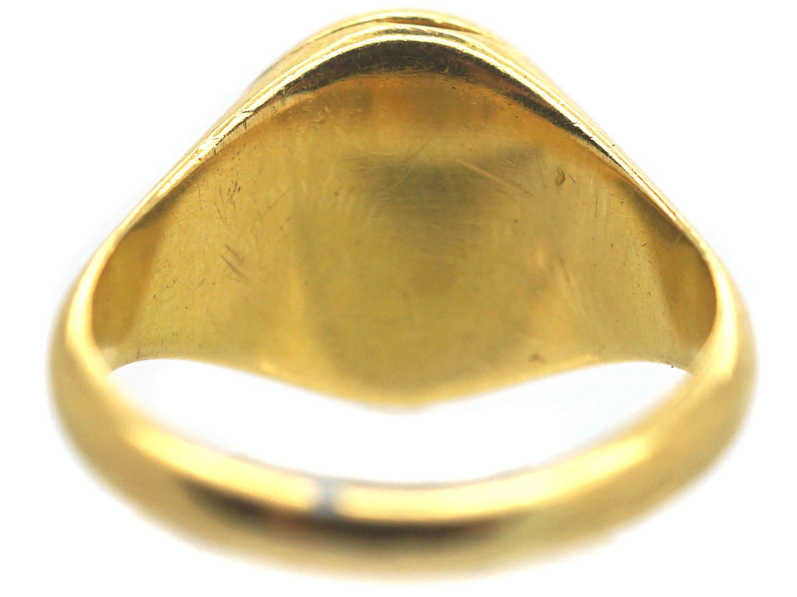 Victorian 18ct Gold Opening Ring with Locket Compartment
