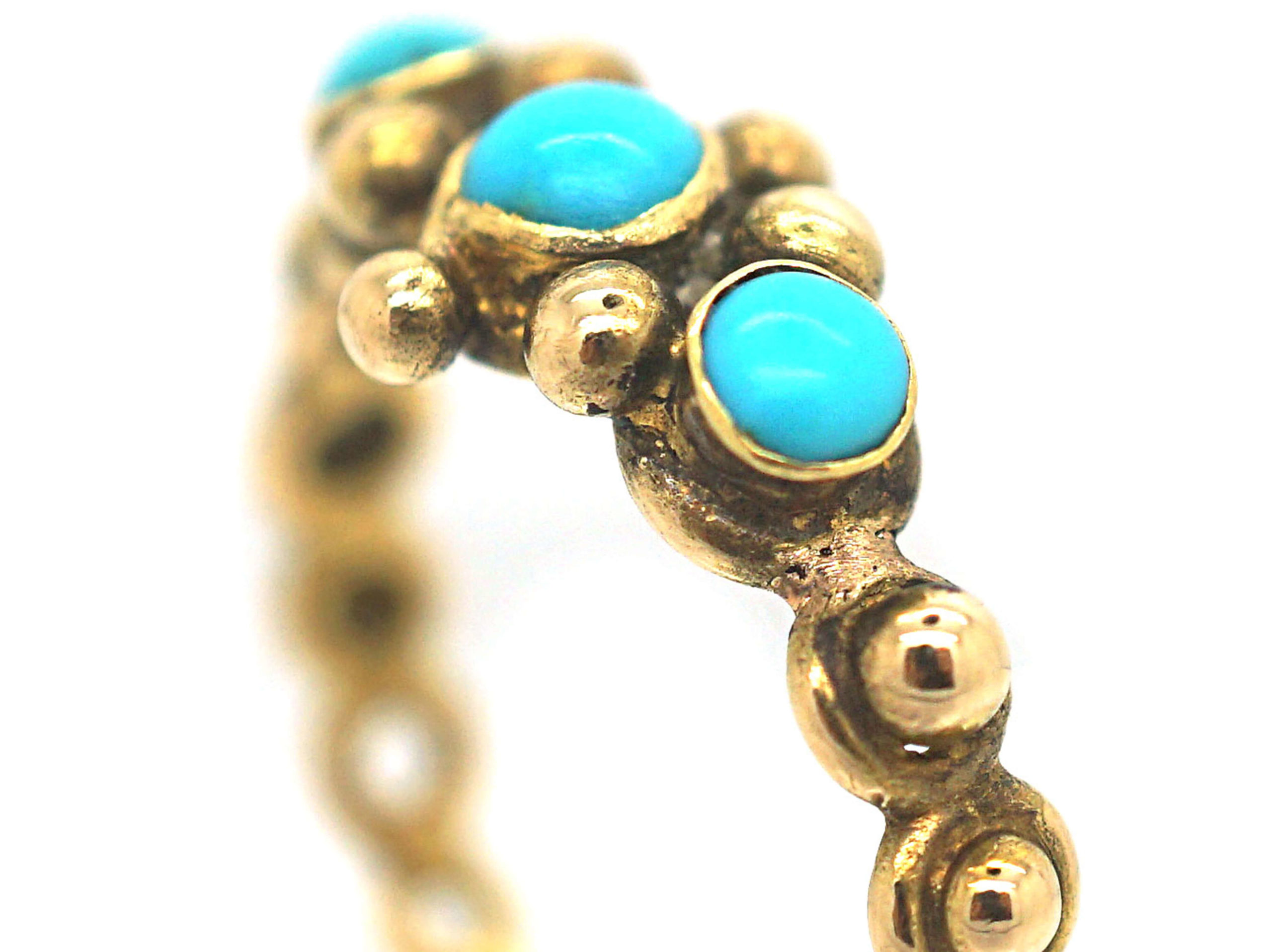 Early Victorian 18ct Gold & Turquoise