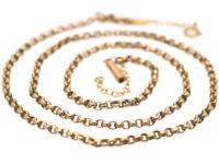 Victorian 9ct Gold Chain
