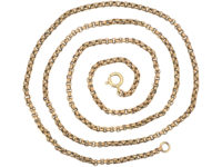 Victorian 9ct Gold Medium Length Chain
