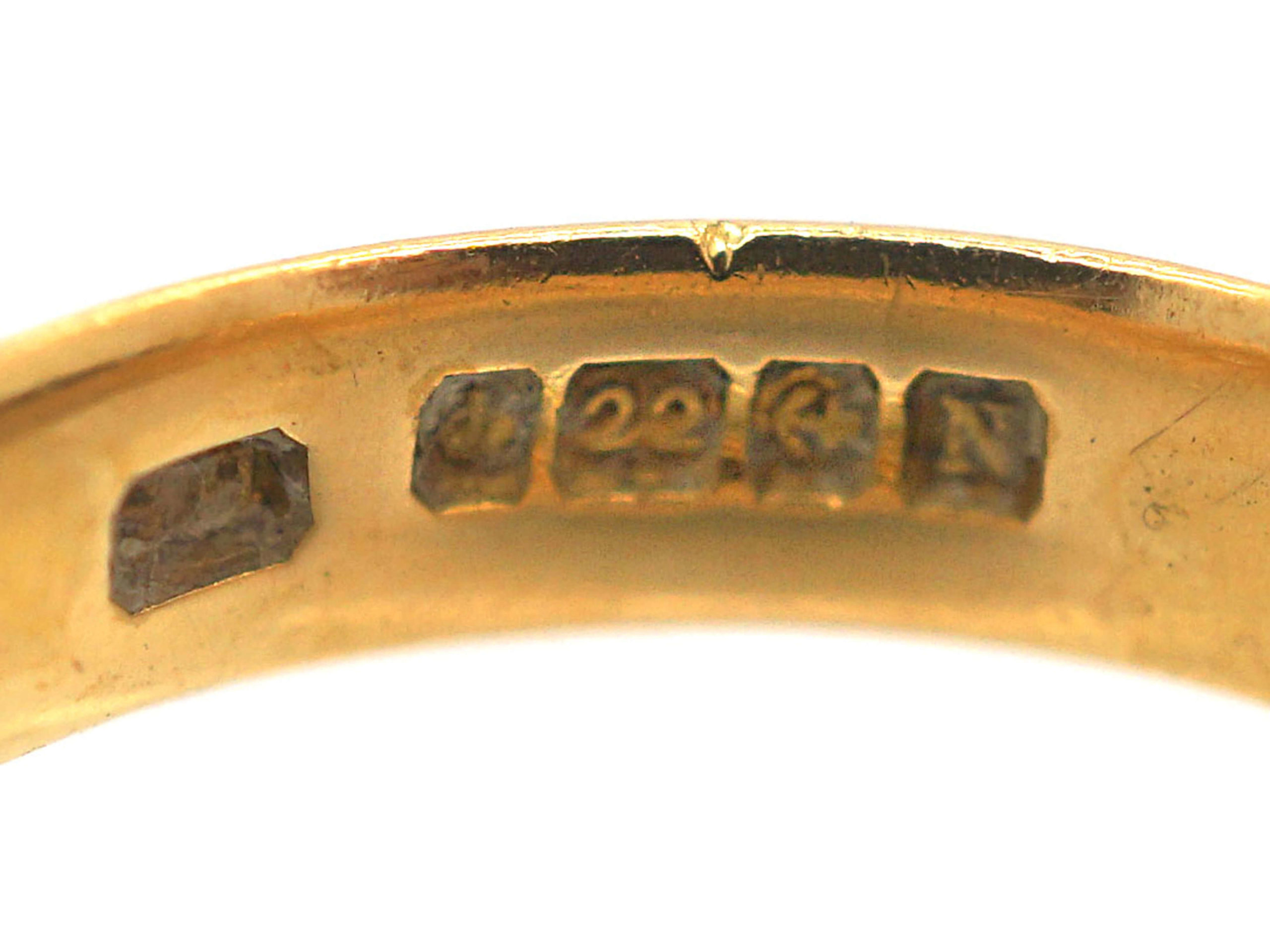 22ct Gold Wedding Ring made in 1937