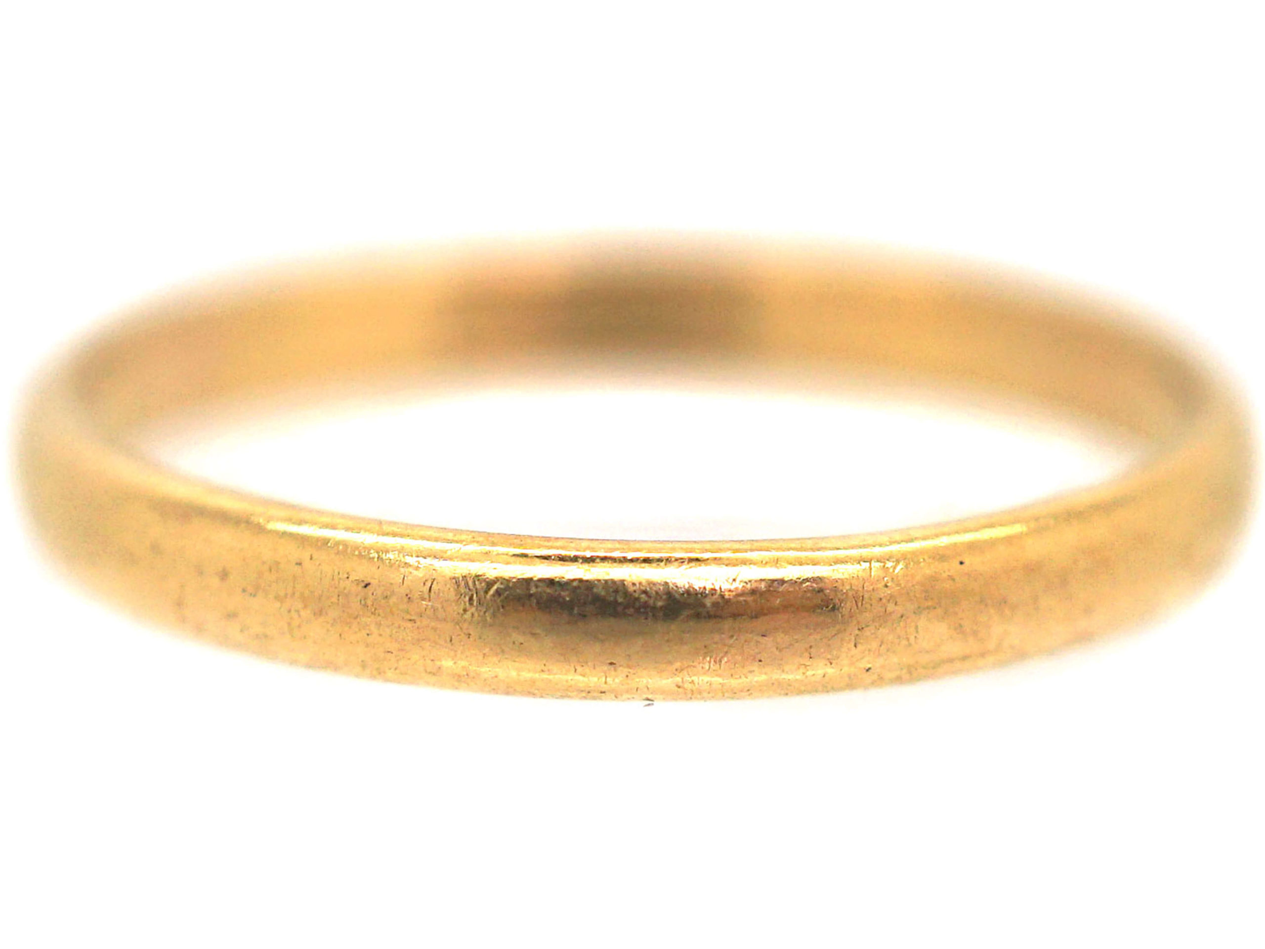 22ct Gold Wedding Ring made in 1940