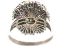 18ct White Gold & Diamond Turban Ring