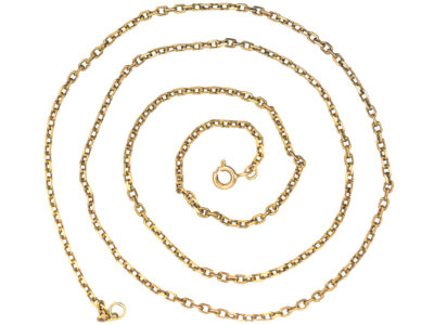 Edwardian 14ct Gold Chain