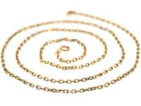 Edwardian 14ct Gold Chain