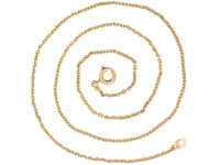 9ct Trace Link Chain