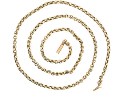 Edwardian 15ct Gold Chain