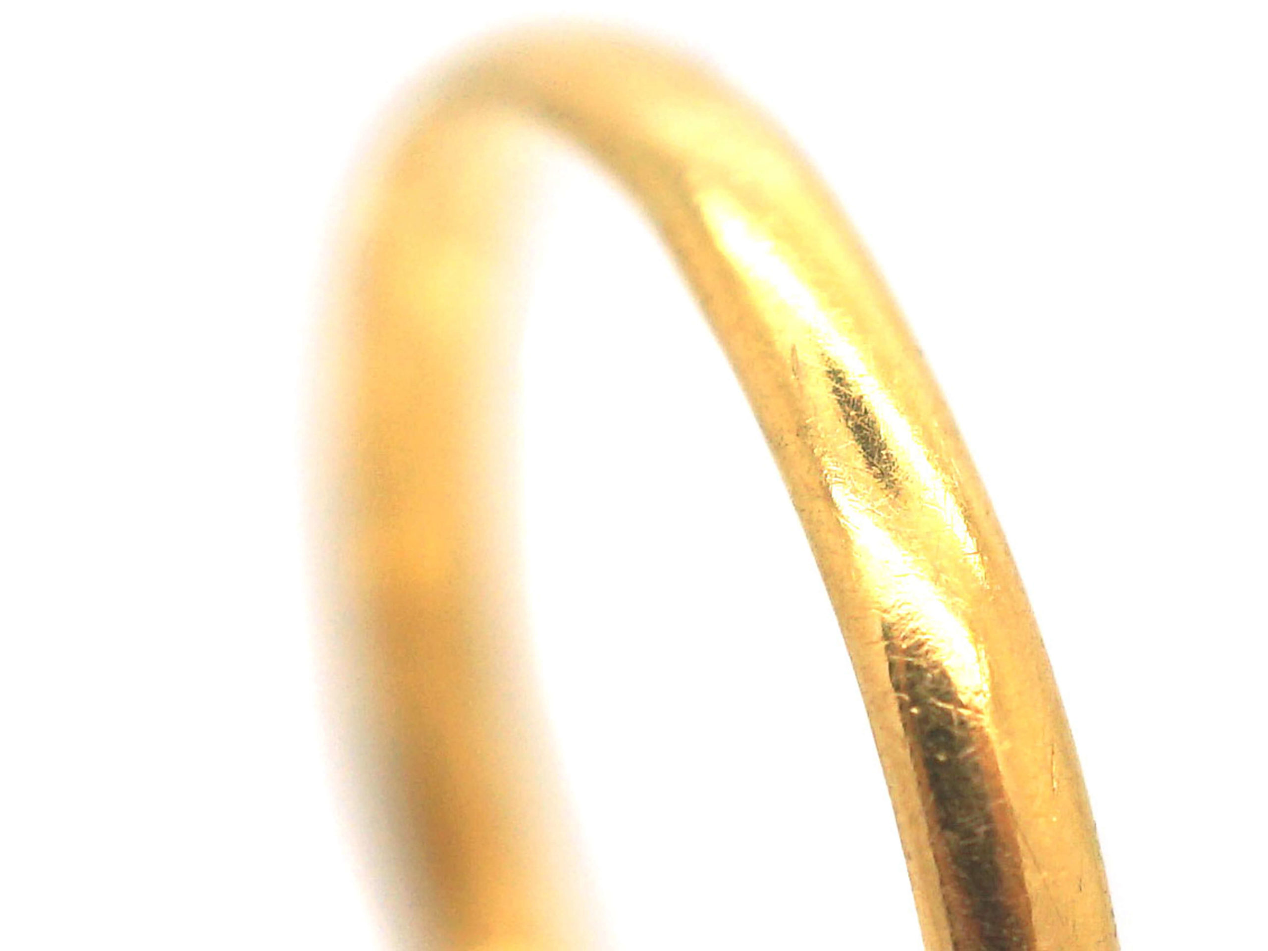 22ct Gold Wedding Ring made in 1935