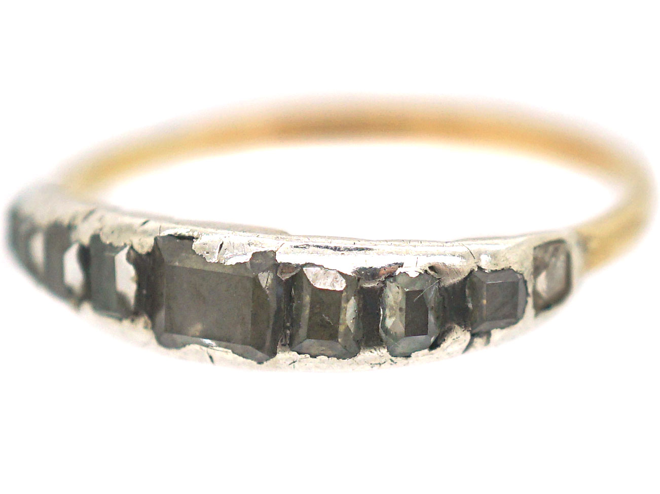 Georgian Table Cut Diamond Ring