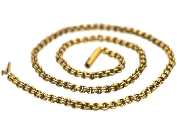 Victorian 15ct Gold Chain
