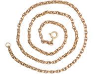Victorian 9ct Gold Ornate Chain