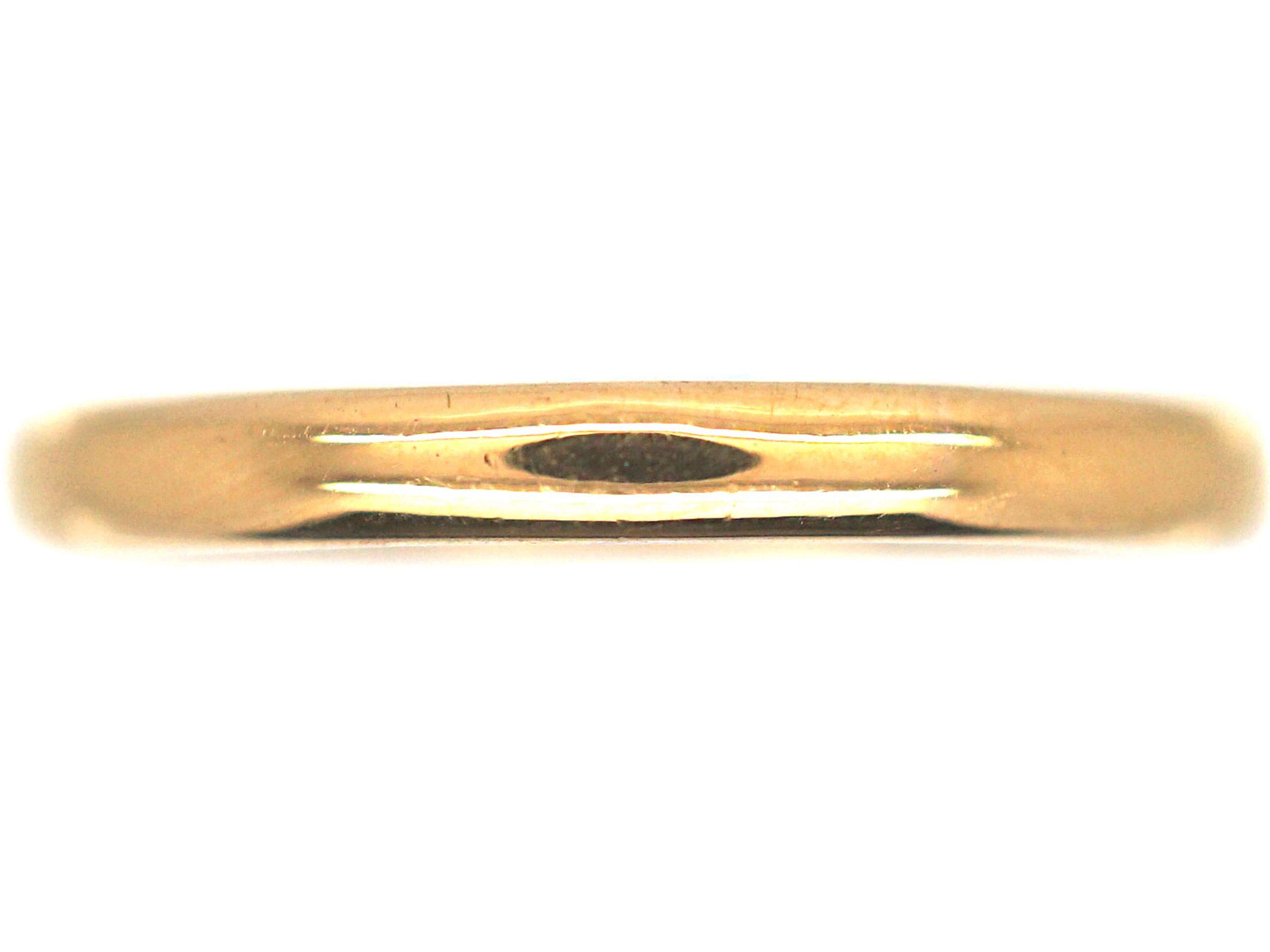 Retro 22ct Gold Wedding Ring