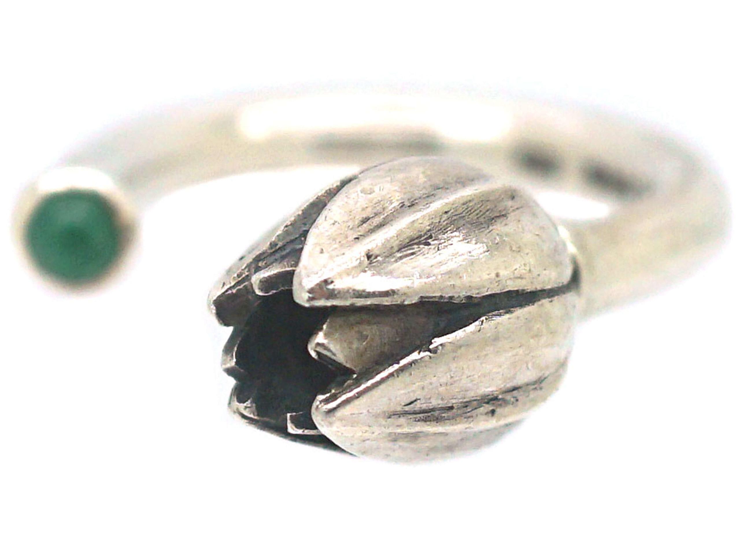 Silver Tulip Ring