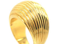 18ct Gold Linear Ring by Asprey