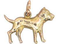 Edwardian 9ct Gold Terrier Charm