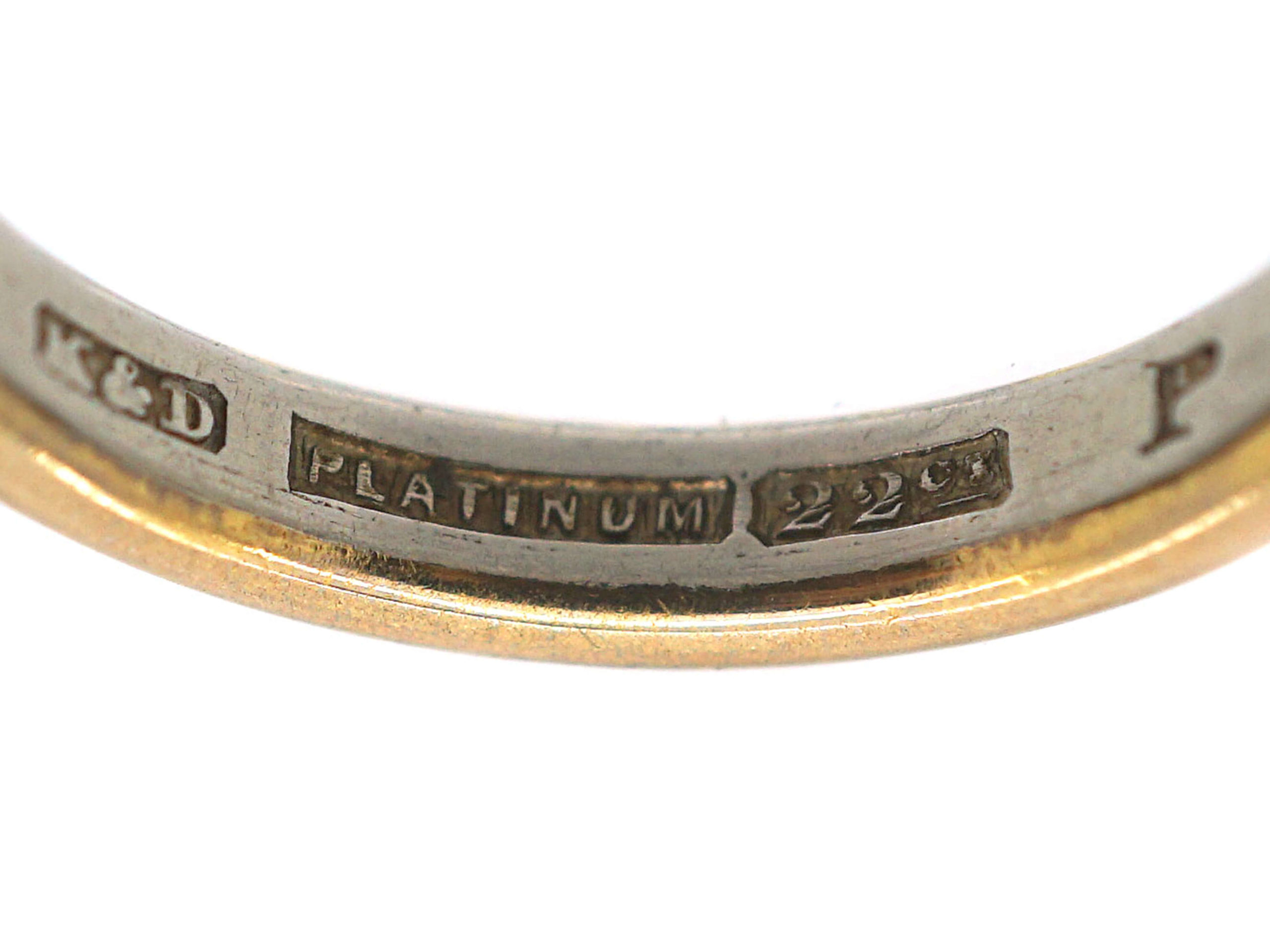 Platinum & 22ct Gold Wedding Ring