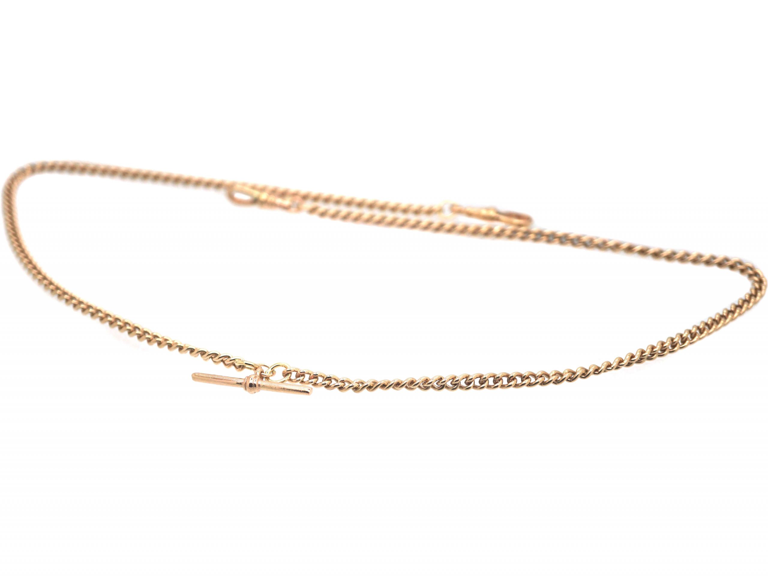 Edwardian 9ct Gold Albert Chain