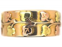 18ct Three Colour Gold Ring by Deakin & Frances
