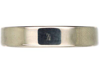 Platinum Wedding Band Ring by Charles Green & Son