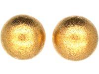 15ct Gold Ball Earrings