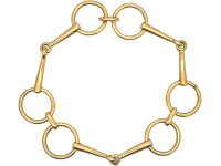 French 18ct Gold Bracelet by Hermes