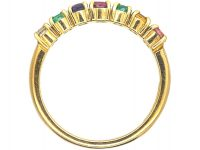 Edwardian 18ct Gold Ring set with Gemstones that Spell Dearest