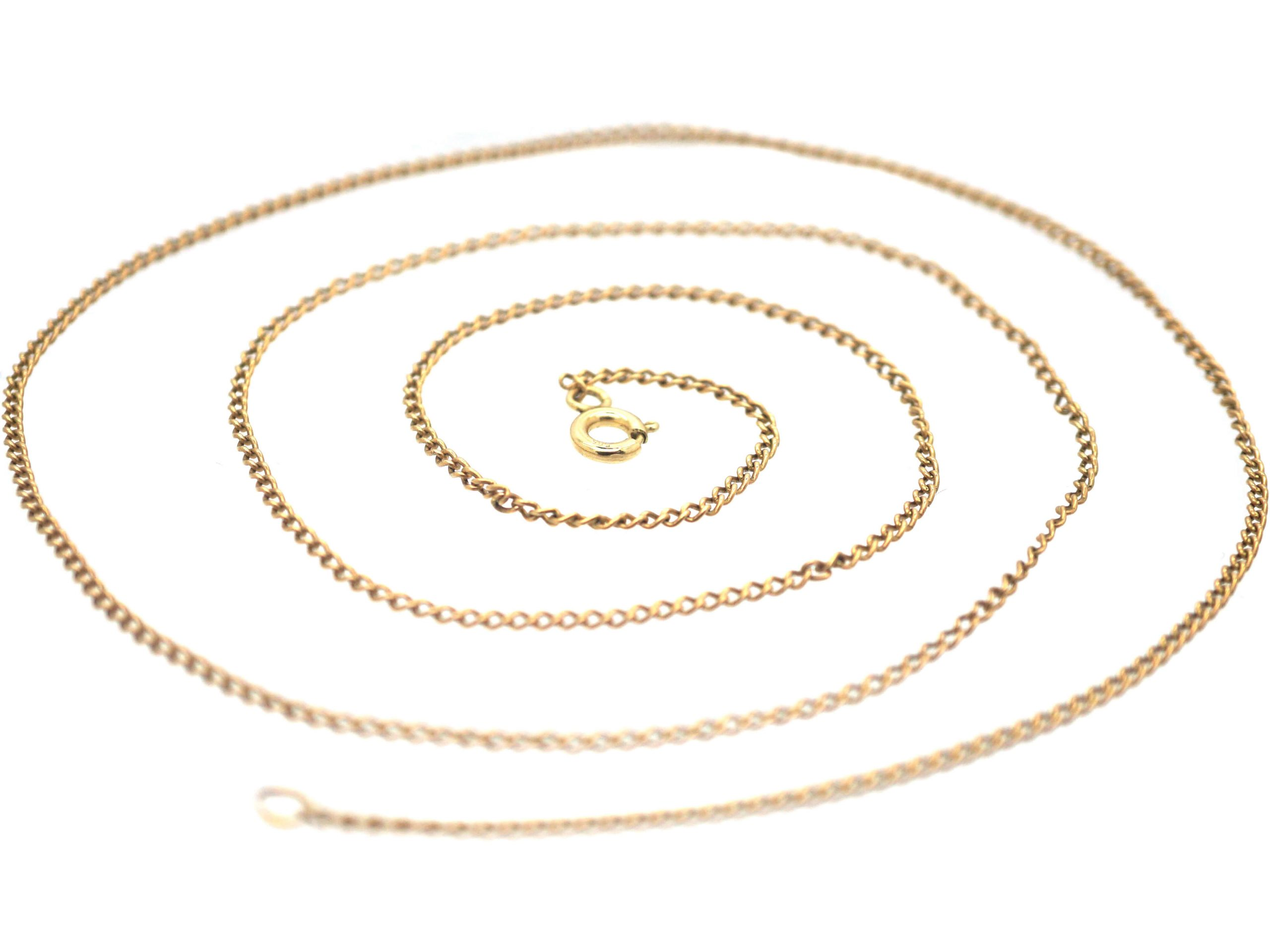 14ct Gold Trace Link Chain