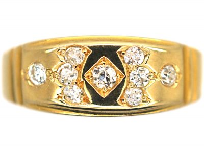 Victorian 18ct Gold & Diamond Ring