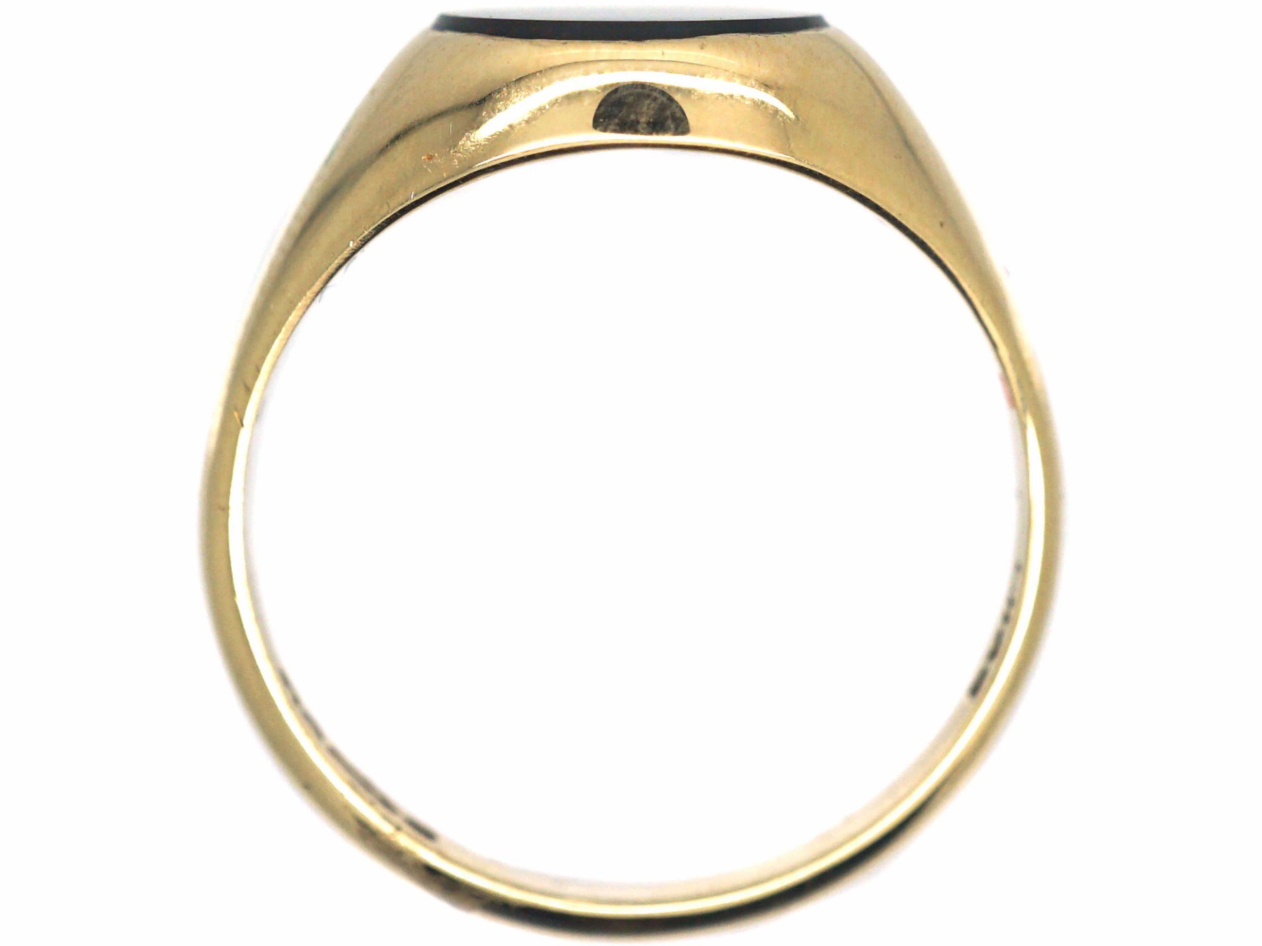 9ct Gold & Bloodstone Signet Ring