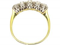 Early 20th Century 18ct Gold, Five Stone Diamond Ring