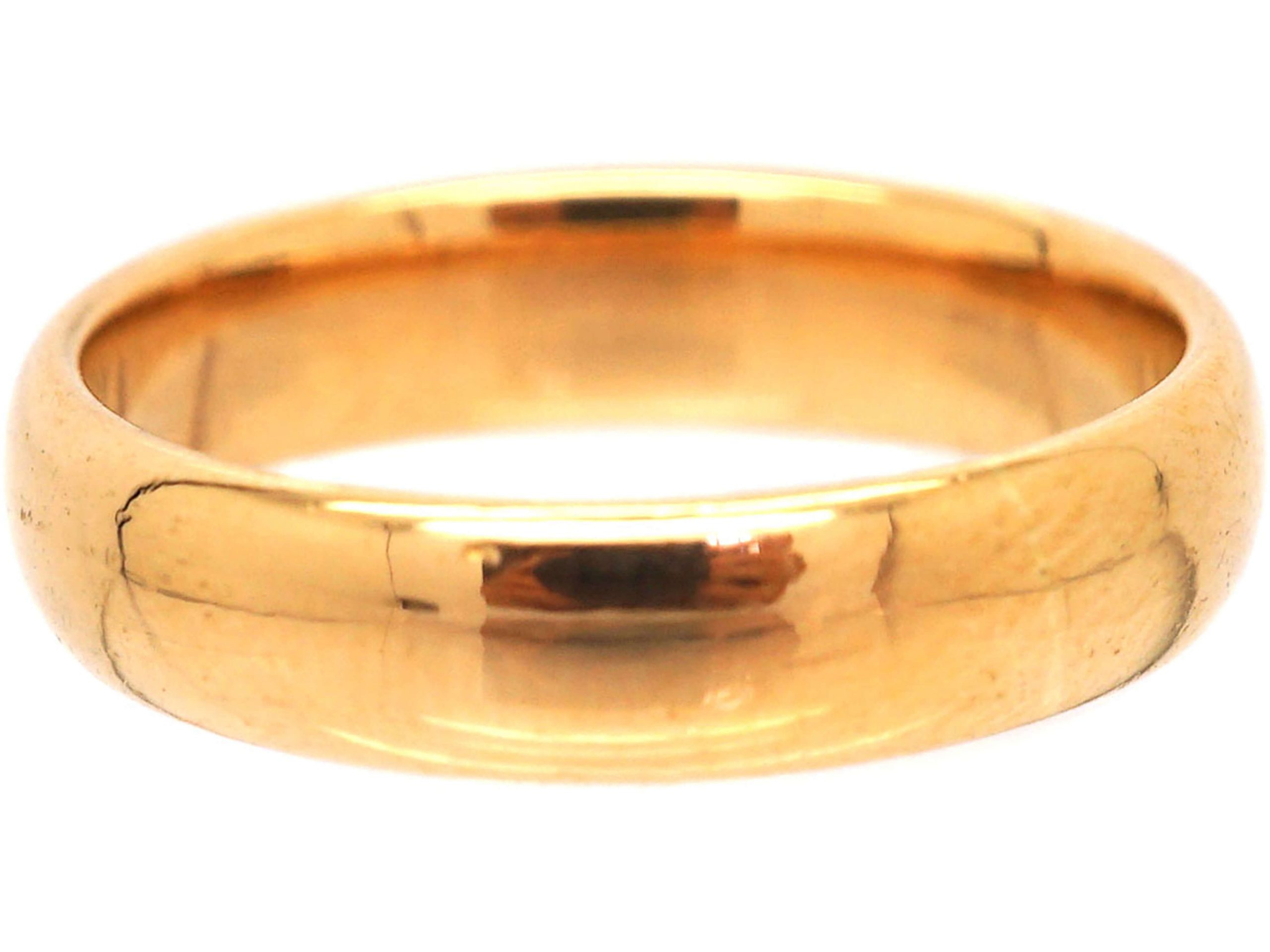 22ct Gold Wedding Ring Made in 1922