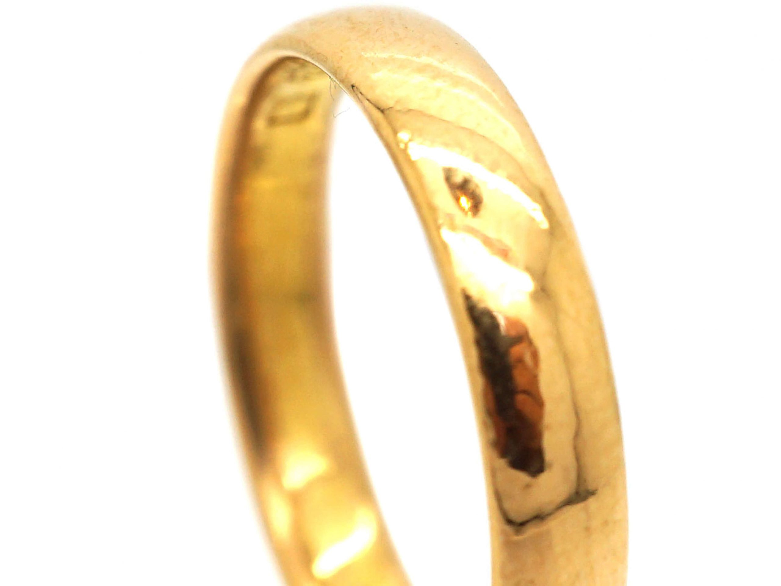 22ct Gold Wedding Ring Assayed in 1934