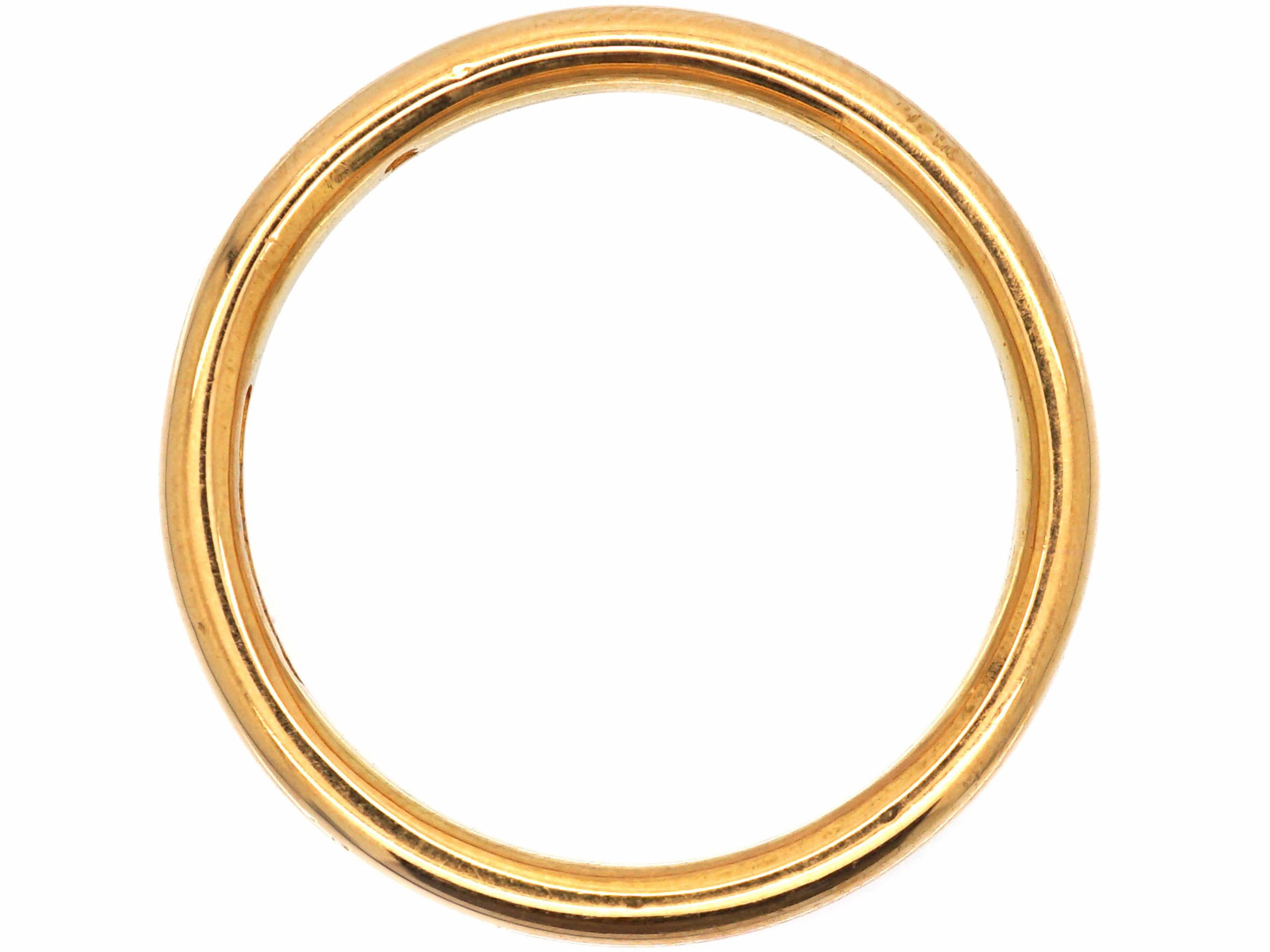 22ct Gold Wedding Ring Assayed in 1951