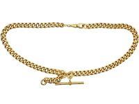Victorian Silver Gilt Albert Chain