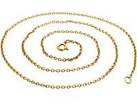 9ct Gold Narrow Chain