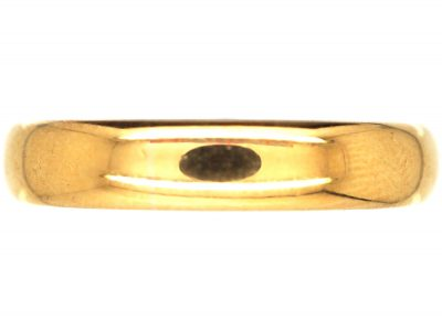 22ct Gold Wedding Ring Assayed in 1922