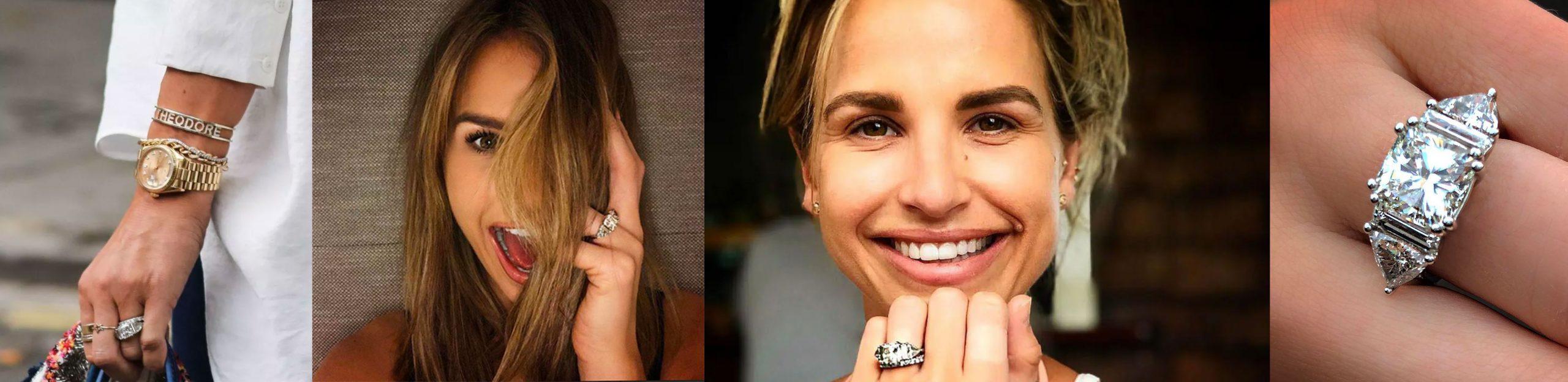 Vogue Williams engagement ring