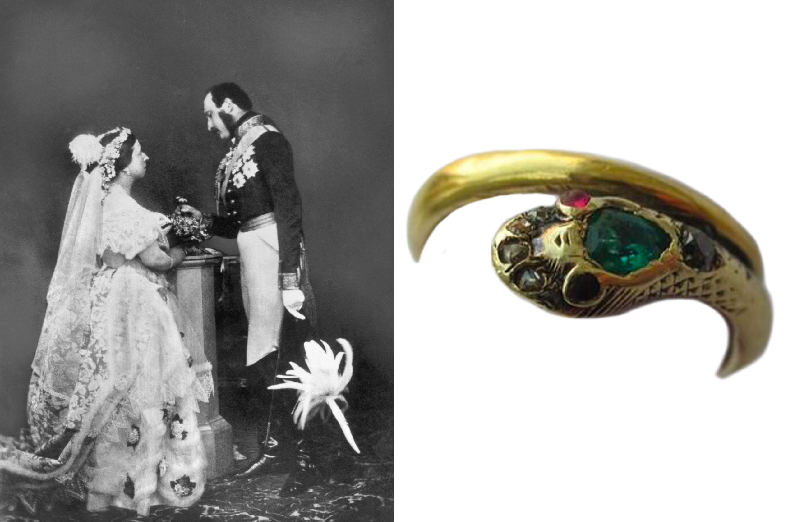 Queen Victoria's snake ring