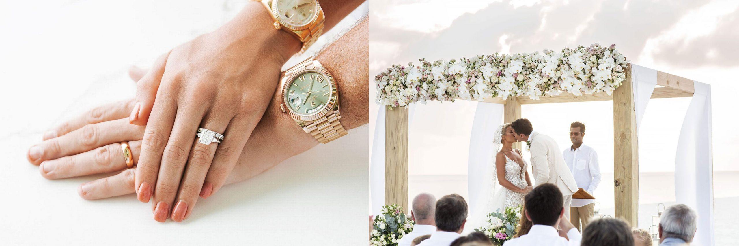 Billie Faier's engagement ring