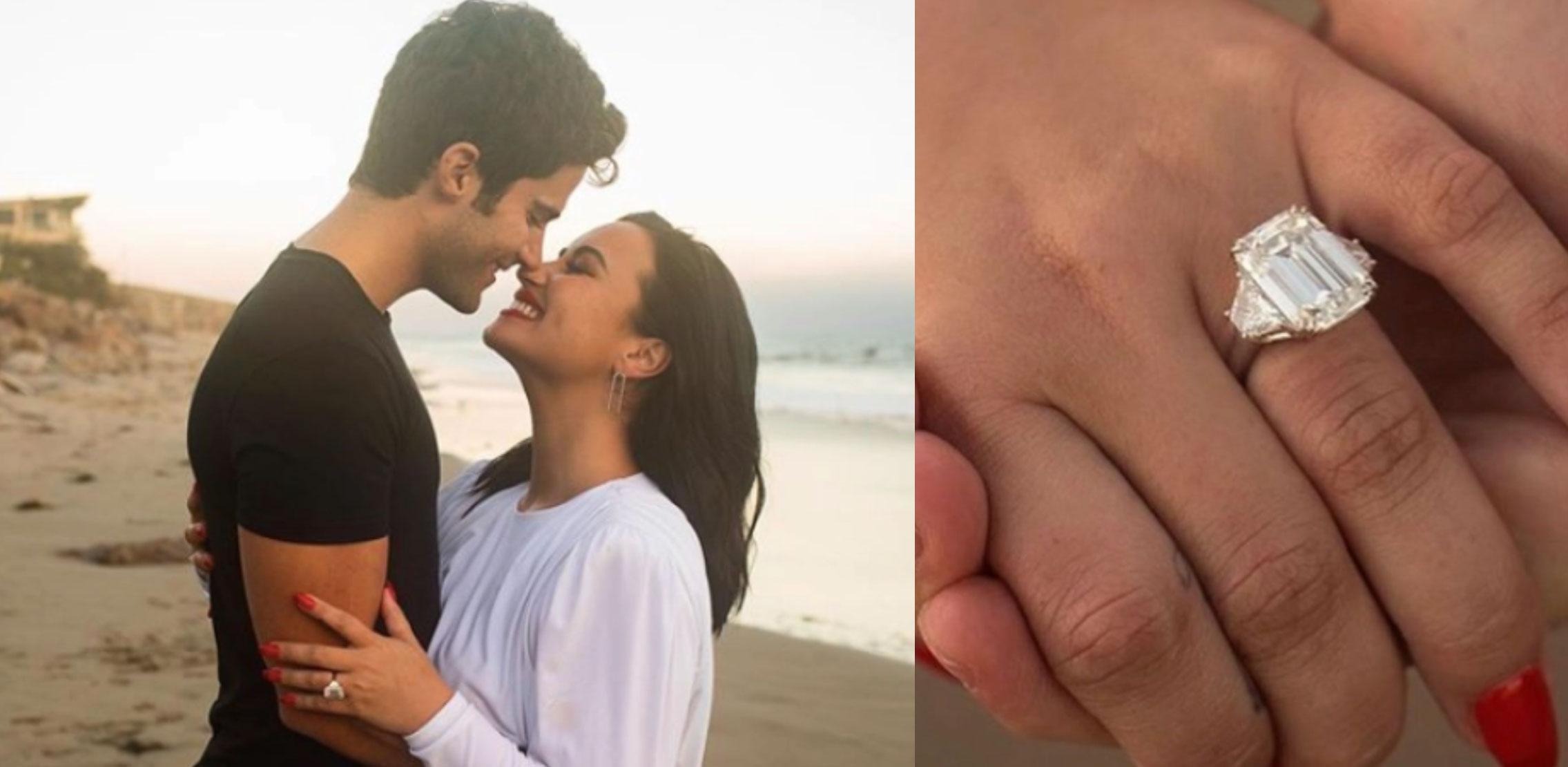Demi Lovato engagement ring