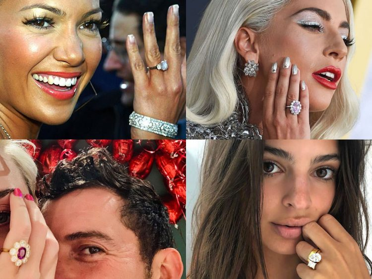 The 18 Most Jaw-Dropping US Celebrity Engagement Rings