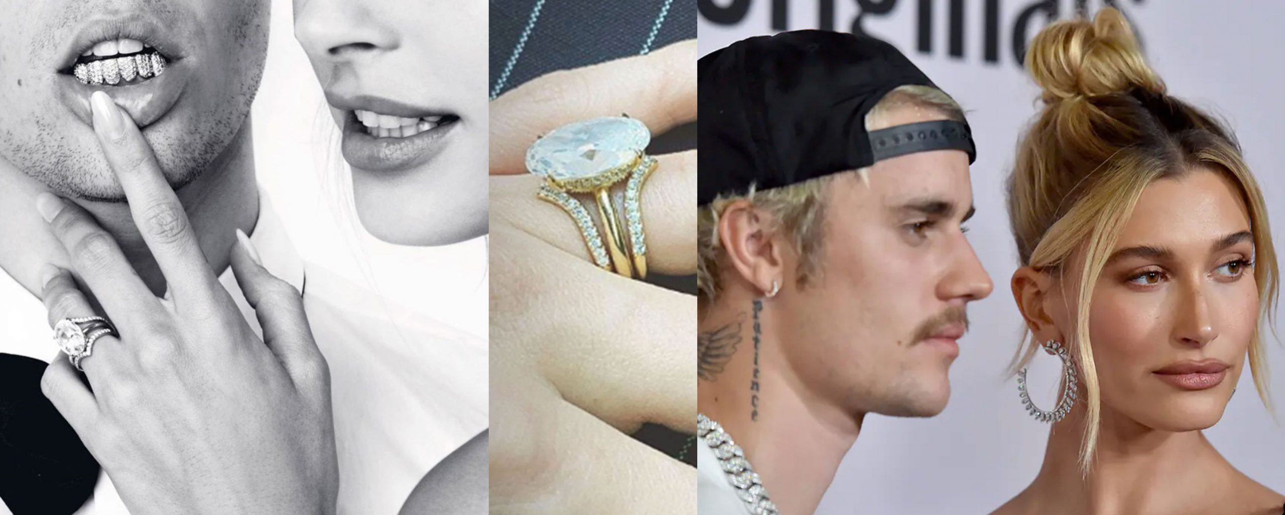 Hailey Bieber engagement ring